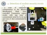 4 detection of nuclear security events