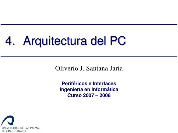 4 arquitectura del pc n.