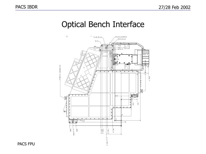 Optical Bench Interface