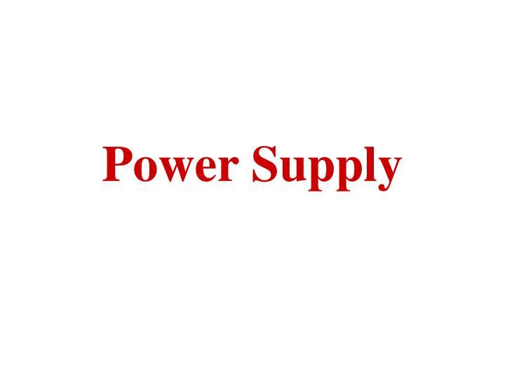 power supply n.