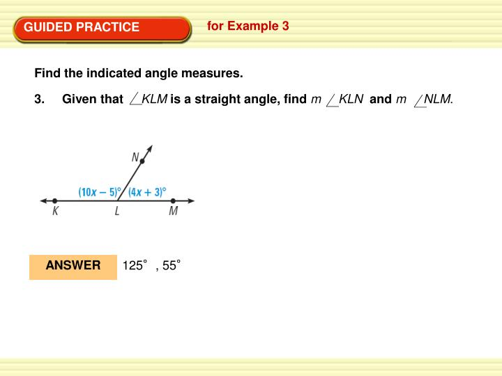 Find the indicated angle measures.