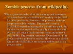 zombie process from wikipedia