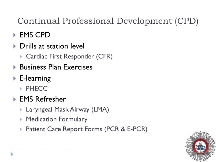 Continual Professional Development (CPD)