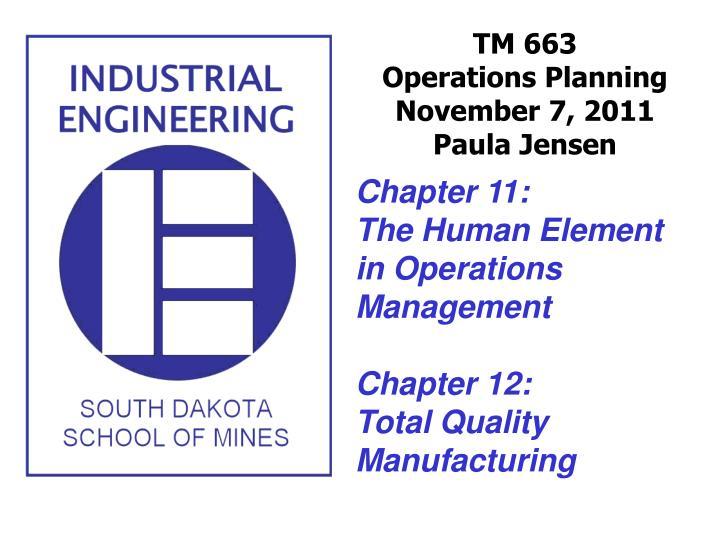 tm 663 operations planning november 7 2011 paula jensen n.