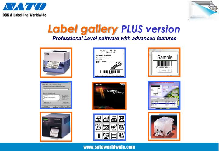 Label gallery