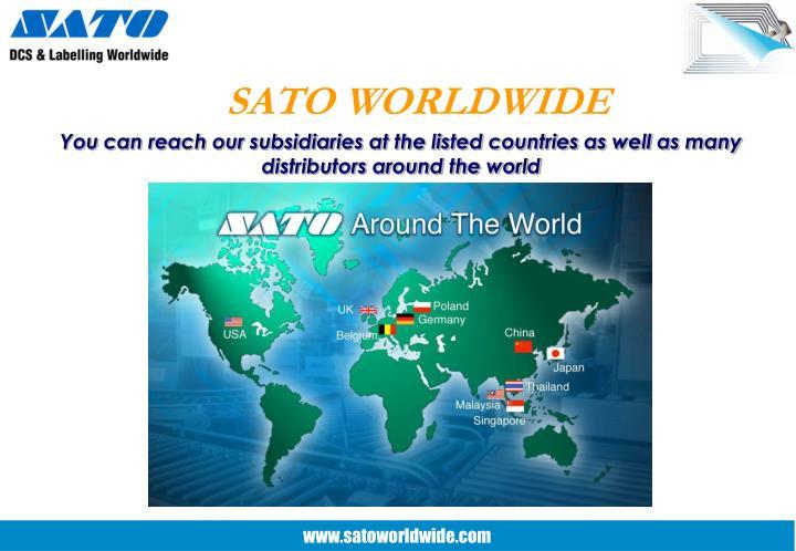 SATO WORLDWIDE