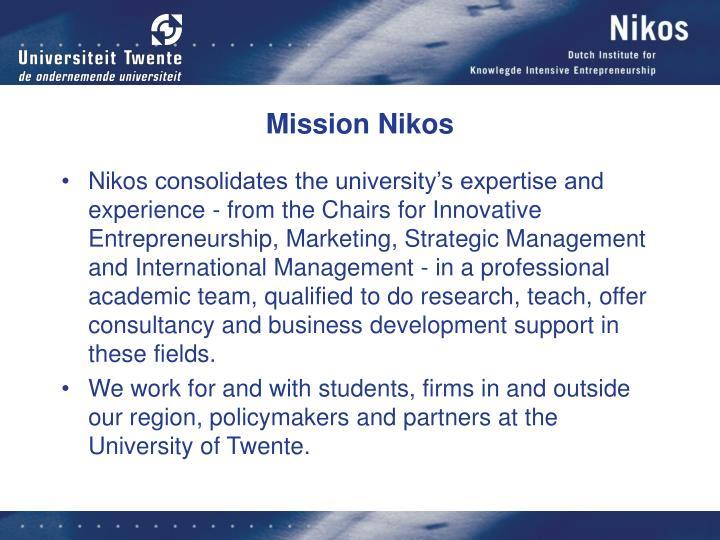 Mission Nikos