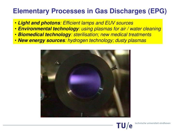 Elementary Processes in Gas Discharges (EPG)