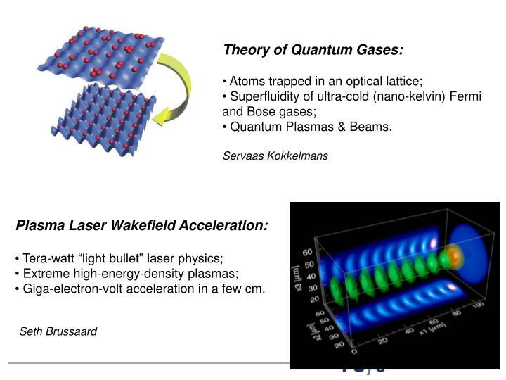 Theory of Quantum Gases: