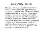 elementary process1