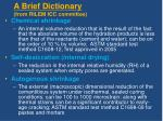 a brief dictionary from rilem icc committee