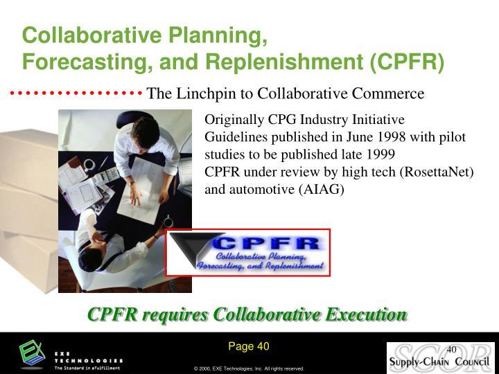 Collaborative Planning,