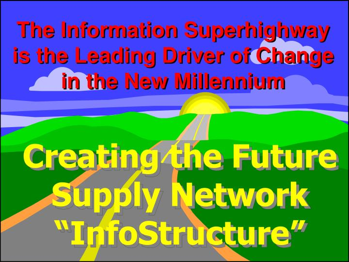 The Information Superhighway is the Leading Driver of Change in the New Millennium