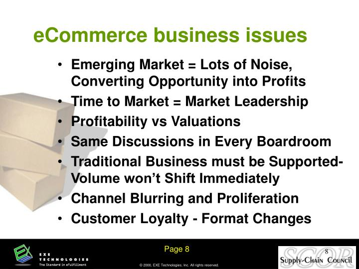 eCommerce business issues