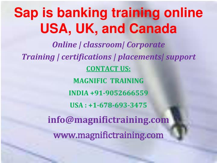 sap is banking training online usa uk and canada n.