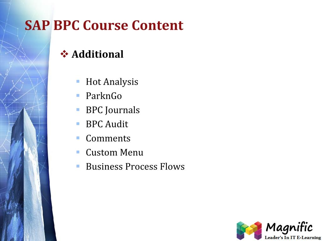 PPT - sap bpc online training USA,UK and Canada PowerPoint