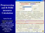preprocessing and r fmri measures calculation16