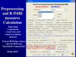 preprocessing and r fmri measures calculation24