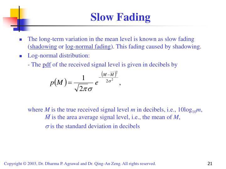 Slow Fading