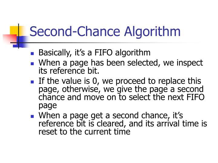PPT - Second-Chance Algorithm PowerPoint Presentation - ID