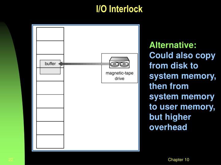 I/O Interlock