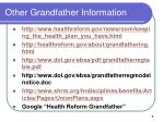 other grandfather information