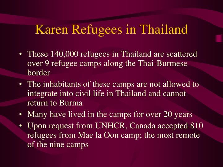 Karen Refugees in Thailand
