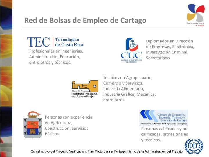 Diplomados en Dirección de Empresas, Electrónica, Investigación Criminal, Secretariado