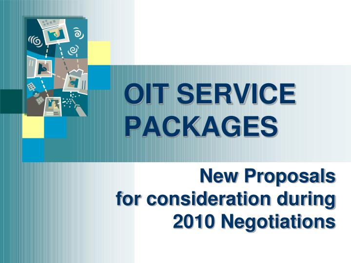 oit service packages n.