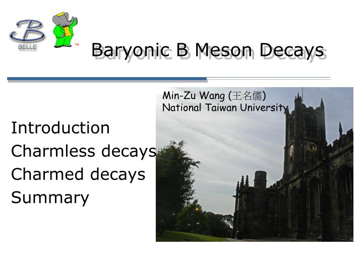 baryonic b meson decays n.