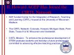 ii howard agep has joined the cirtl network