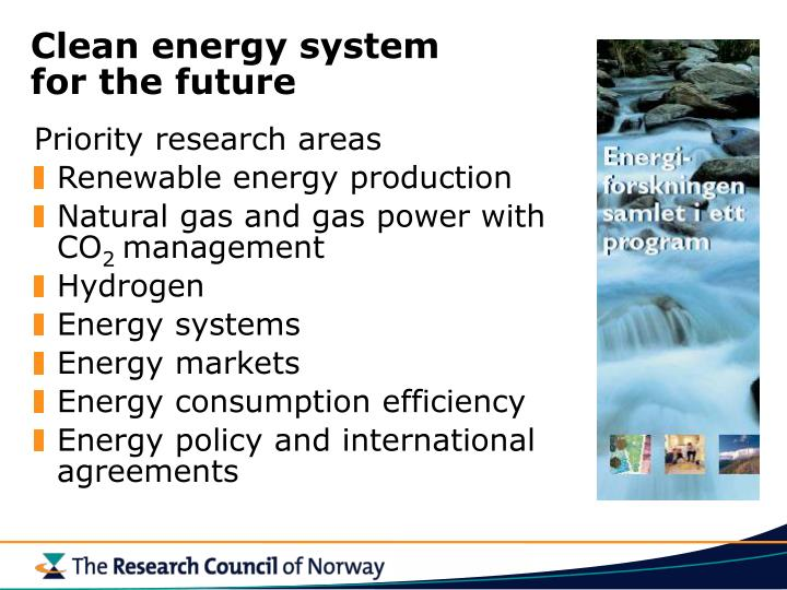 Clean energy system
