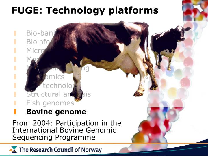 FUGE: Technology platforms