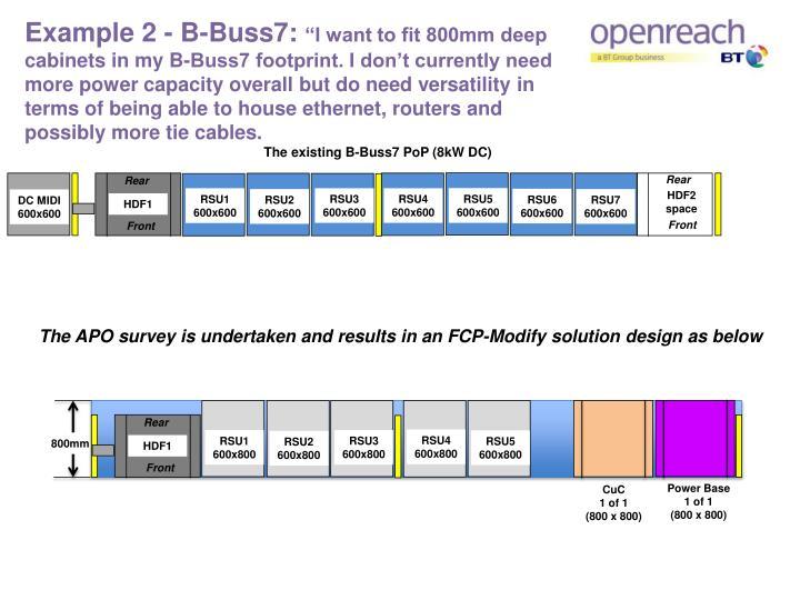 Example 2 - B-Buss7: