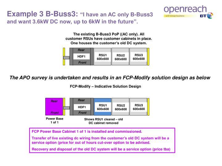 Example 3 B-Buss3: