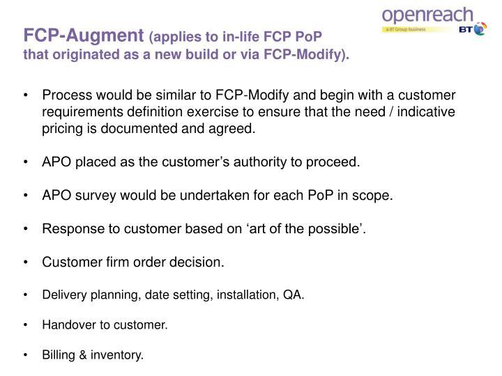 FCP-Augment