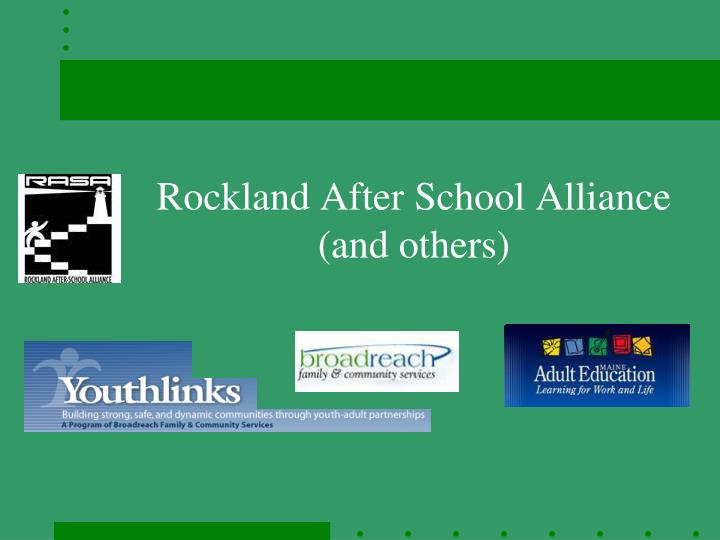 rockland after school alliance and others n.