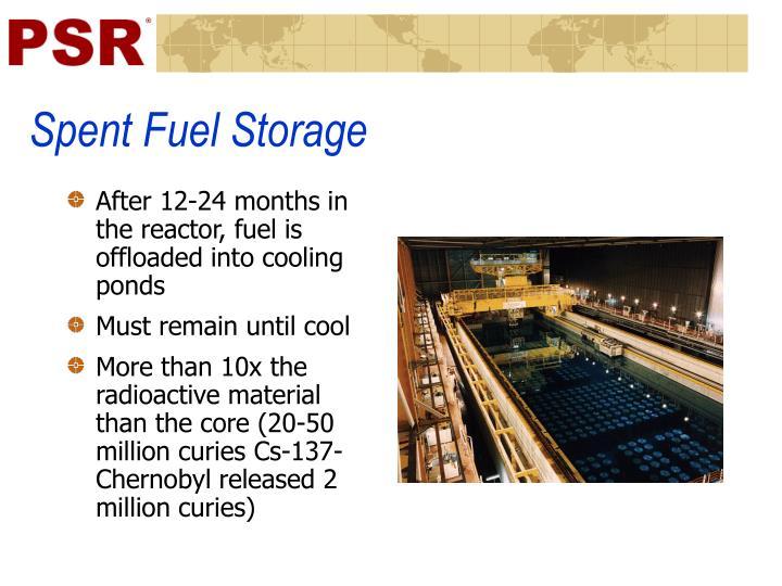 Spent Fuel Storage