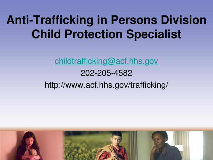 Anti-Trafficking in Persons Division