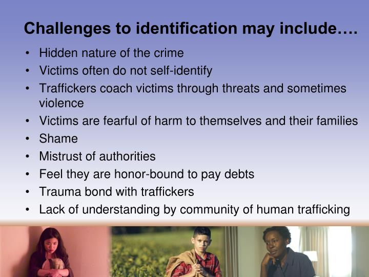 Challenges to identification