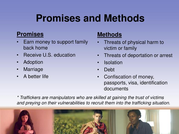 Promises and Methods