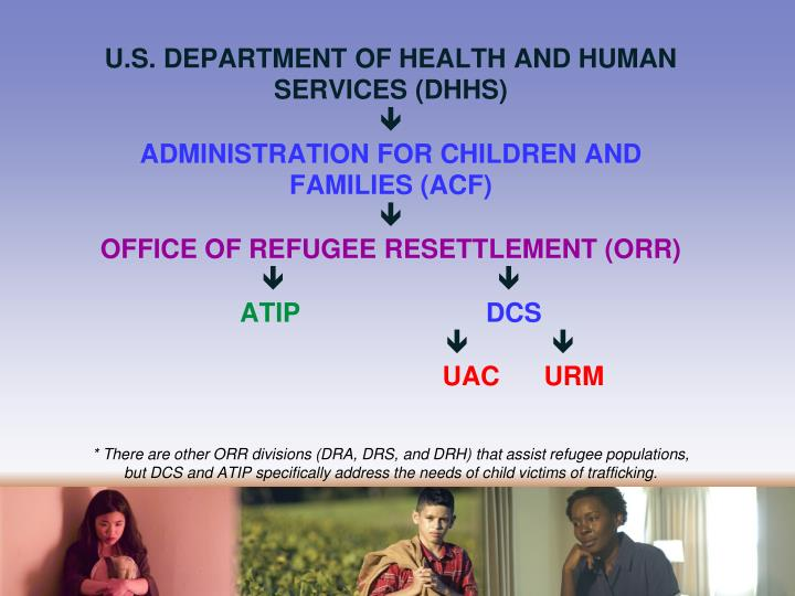 U.S. DEPARTMENT OF HEALTH AND HUMAN SERVICES (DHHS)