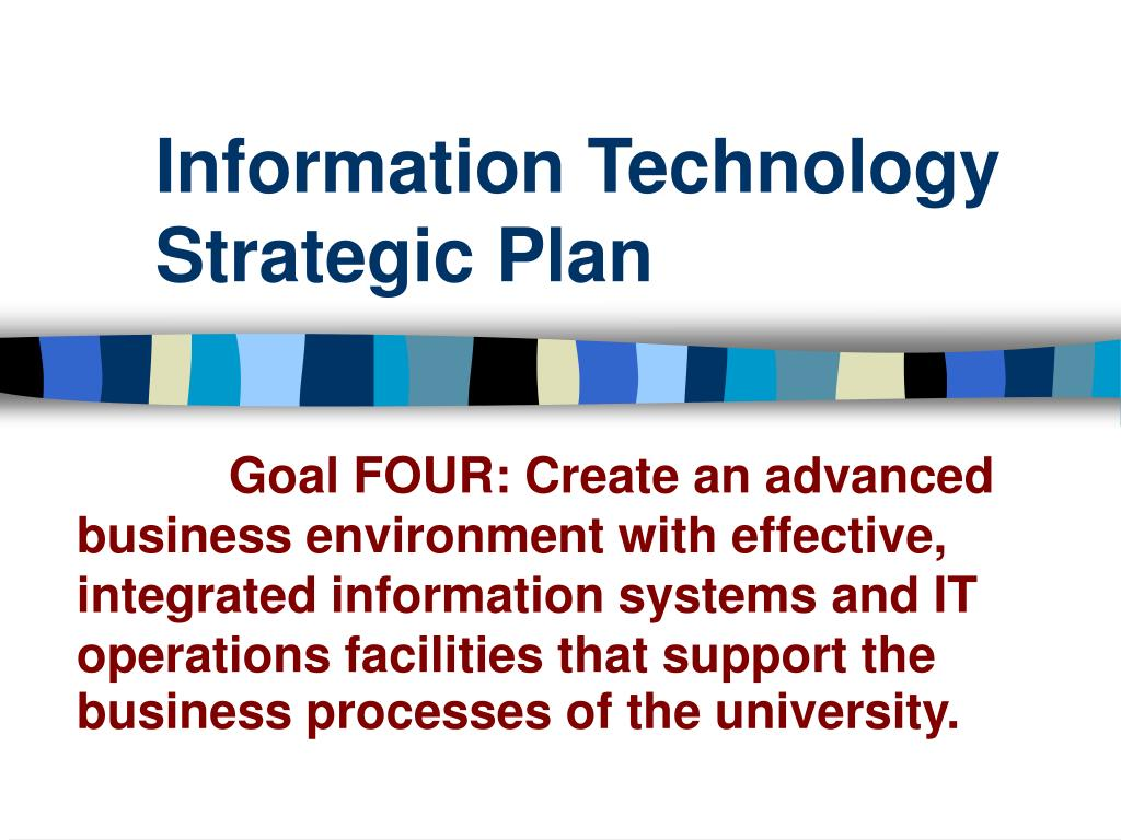 information technology business plan