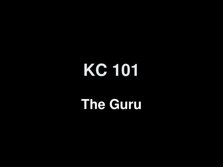 kc 101 n.