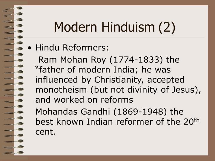 Modern Hinduism