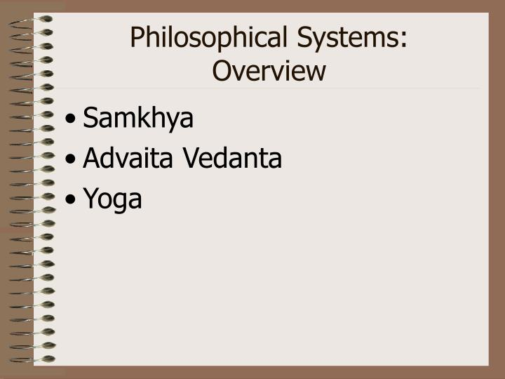 Philosophical Systems: