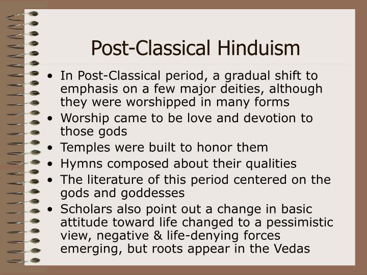 Post-Classical Hinduism