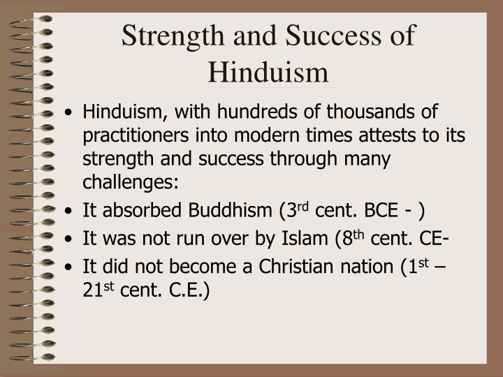 Strength and Success of Hinduism