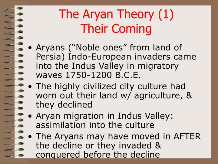 The Aryan Theory (1)
