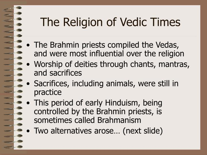 The Religion of Vedic Times